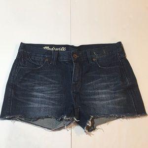 Madewell Cutoff Denim Jean Shorts